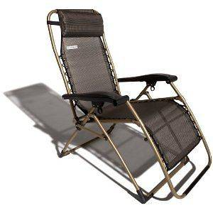 Personal Portable Chair Anti Gravity Adjustable Recliner Lounge