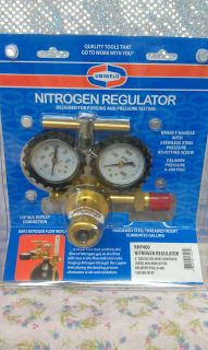 NITROGEN, REGULATOR, 0 to 400 PSI Delivery, MADE IN USA, UNIWELD