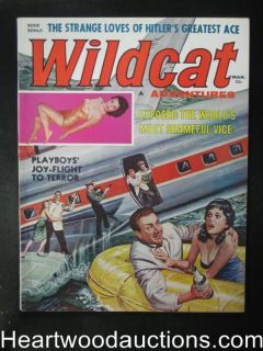Wildcat Mar 1960 Bill Ward  High Grade