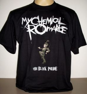 My Chemical Romance The Black Parade Cartoon T Shirt Size S   XL new