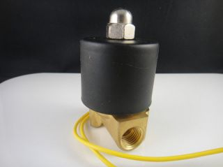 12V DC 1/8 Electric Solenoid Valve Water Air N/C Gas Water Air 2W025