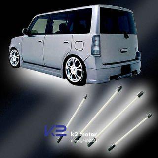 UNDERBODY UNDERCAR NEON LIGHT CAR GLOW KIT WHITE 4 PCS