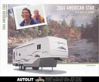 2004 Newmar American Star Travel Trailer Brochure