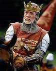 Patrick McGoohan as Longshanks King Edward I in Braveheart 24X30