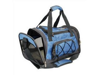 sport duffle S blue pet dog cat carrier bag airline airplane approved