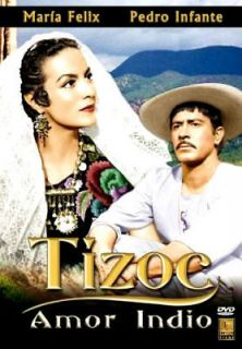 tizoc 1960 pedro infante maria felix new dvd expedited shipping