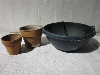 clay flower pots in Planters, Pots & Window Boxes