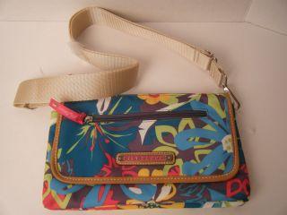 LILY BLOOM CROSSBODY ENVELOPE STYLE OR CLUTCH PURSE HANDBAG NWT FLOWER