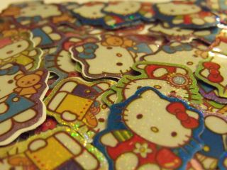 hello kitty stickers stocking fillers party bag reward stickers 100