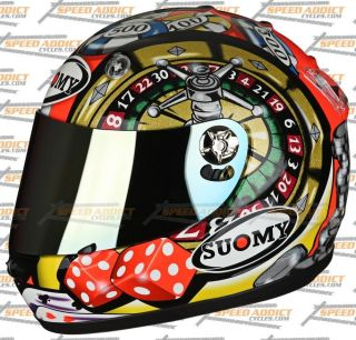 Suomy Vandal Atlantic City Gambler Full Face Helmet LG