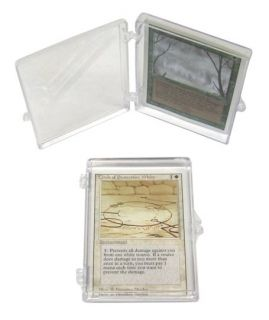 trading card plastic storage box