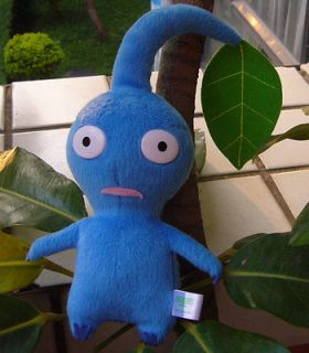 NEW ARRIVAL NINTENDO PIKMIN BLUE LEAF RARE PLUSH DOLL COLLECTION
