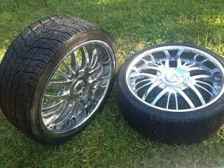 20 inch chrome rox rims with low profile tires. Black Bedroom Furniture Sets. Home Design Ideas