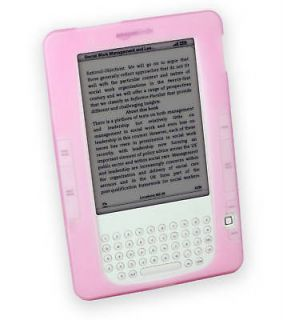 Cover Up  Kindle 2 Pink Silicone Case