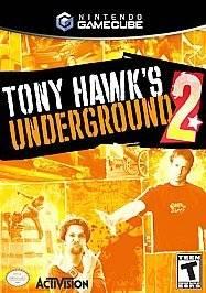 Tony Hawks Underground 2 GAME CUBE Gamecube Wii in Case