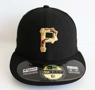 New Era 5950   Pittsburgh Pirates Miitary Day   MLB Baseball Cap Hat