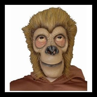 DELUXE PLANET OF THE APES COSTUME LATEX APE MASK BLONDE