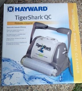 AquaVac TigerShark QC In Ground Robotic Pool Cleaner   RC9990GR