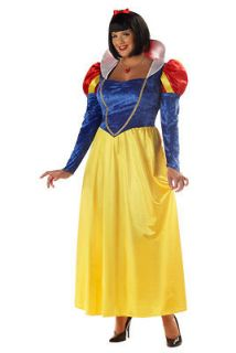 Size Snow White Halloween Holiday Costume Party 3XL (Size Plus Size