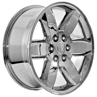 inch chrome Cadillac 2009 Escalade Platinum ESV SUV truck wheels rims