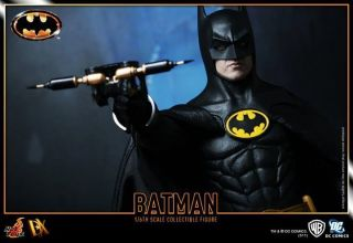 HOT TOYS 16 DX09 BATMAN 1989 DC MICHAEL KEATON TIM BURTON