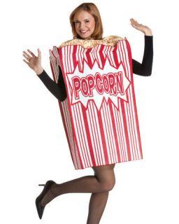 POPCORN BOX funny adult mens womens halloween costume