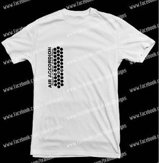 AIR ACCORDION T Shirt Gabbanelli Accordion Style Hohner Accordion