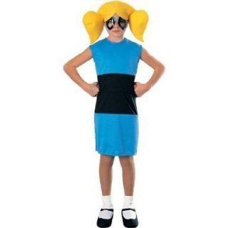 Powerpuff Girls BUBBLES Child Costume S 4 6 Small Girls The Halloween