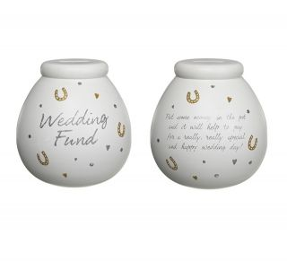 GIANT POTS OF DREAMS MONEY POT BOX ENGAGEMENT GIFT WEDDING FUND GIFTS