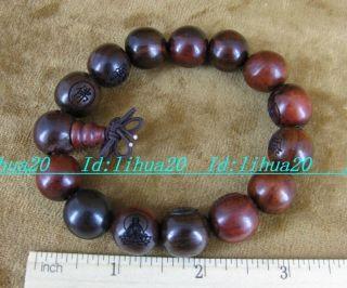 Sandalwood Wood Tibet Buddhist Prayer Beads Mala Bless Bracelet 185