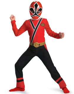 Power Ranger Red Ranger Samurai Classic Licensed Child Halloween