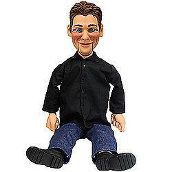 VENTRILOQUIST DOLL DUMMY DVD & BOOK INCLUDED 30 TALL PUPPET N STOCK
