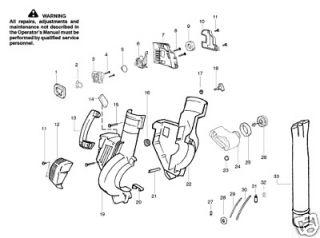 Poulan Blower part # 545058007 Fuel Tank Assy