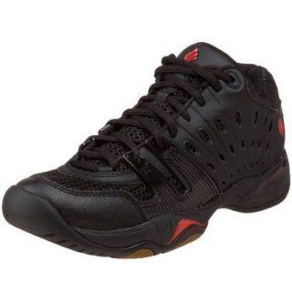 Ektelon T22 Mid Black/Red Shoe , ( Racquetball & Squash )