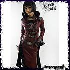 PUNK RAVE STEAMPUNK MILITARY TRENCH COAT   PUNK/GOTHIC/RE​D/JACKET