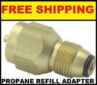 Propane Tank Refill Adapter Coupler
