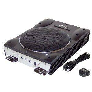 NEW Pyle PLBASS8 8 Slim Low Profile Enclosed Active Powered Amplified