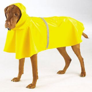HEAVY DUTY VINYL DOG RAINCOAT