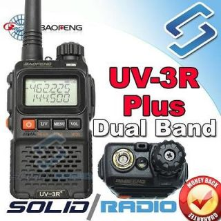 BAOFENG UV 3R Plus Dual Band Radio mini portable handheld radio