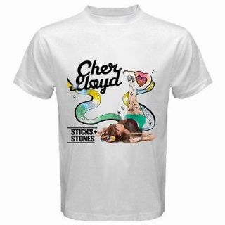 Newly listed $READ DESCRIPTION$ Cher Lloyd Album Sticks White T Shirt