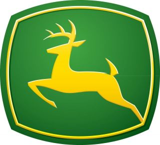 JOHN DEERE vinyl cut sticker decal 6 (full color)
