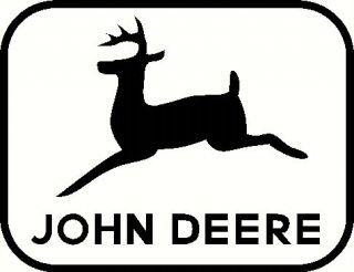john deer vinyl decal window or bumper sticker