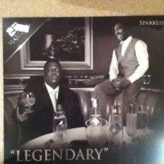 BIGGIE SMALLS TUPAC 2PAC Notorious Big Flexi Poster Hip Hop Legends Dr