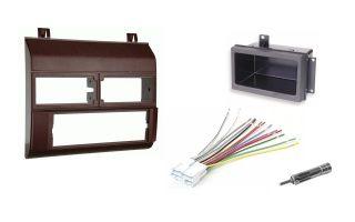 Chevy Pickup Truck 88 94 Burgundy Radio Stereo Dash Kit w/Wire Harness