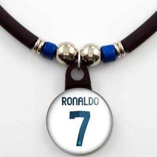 Cristiano Ronaldo #7 Real Madrid 2012 13 Home Jersey Necklace
