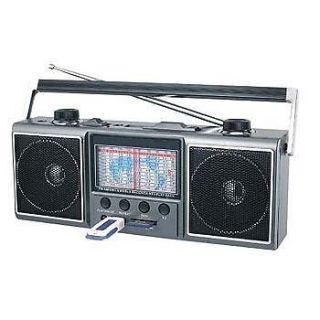 11 1 9 BAND WORLD RECEIVER AM/FM/SW SHORTWAVE RADIO*USB SD CARD SLOT