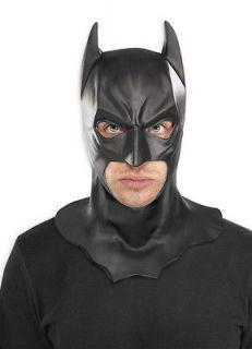 ADULT BATMAN LATEX FULL MASK THE DARK KNIGHT RISES BATMAN COSTUME