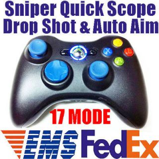 MW3 17 Mode Rapid Fire Modded Xbox 360 Controller Sniper Quick Scope