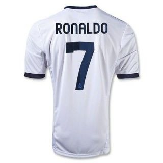 Nike Cristiano Ronaldo 7 Real Madrid Home Soccer Jersey White