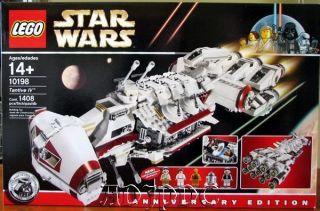 NEW SEALED LEGO STAR WARS   TANTIVE IV   SET 10198   1408 PIECES